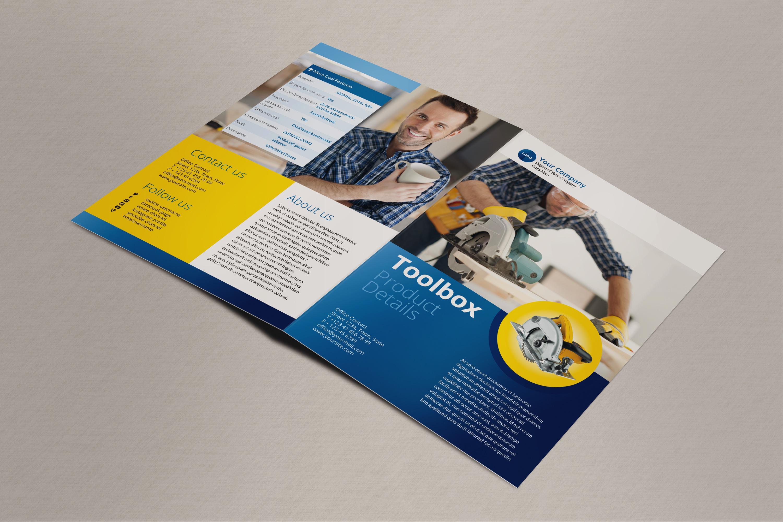 Printable BiFold Brochure Templates  79 Free Word PSD