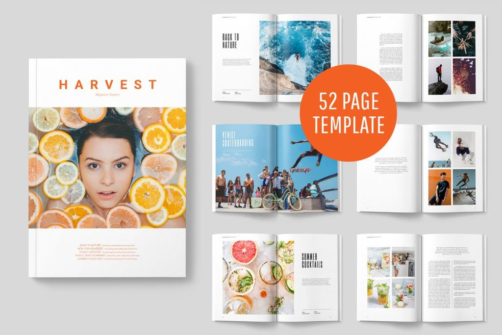 Best InDesign Template