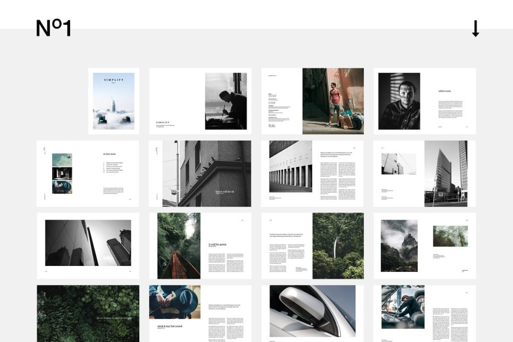 InDesign Magazine templates
