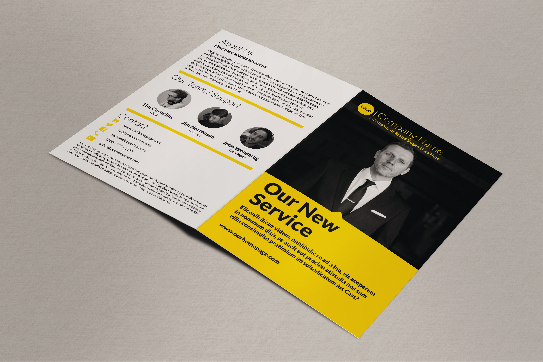 Business Bi-fold Brochure - IndieStock