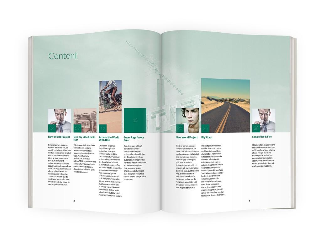 Indiegazine - Magazine template