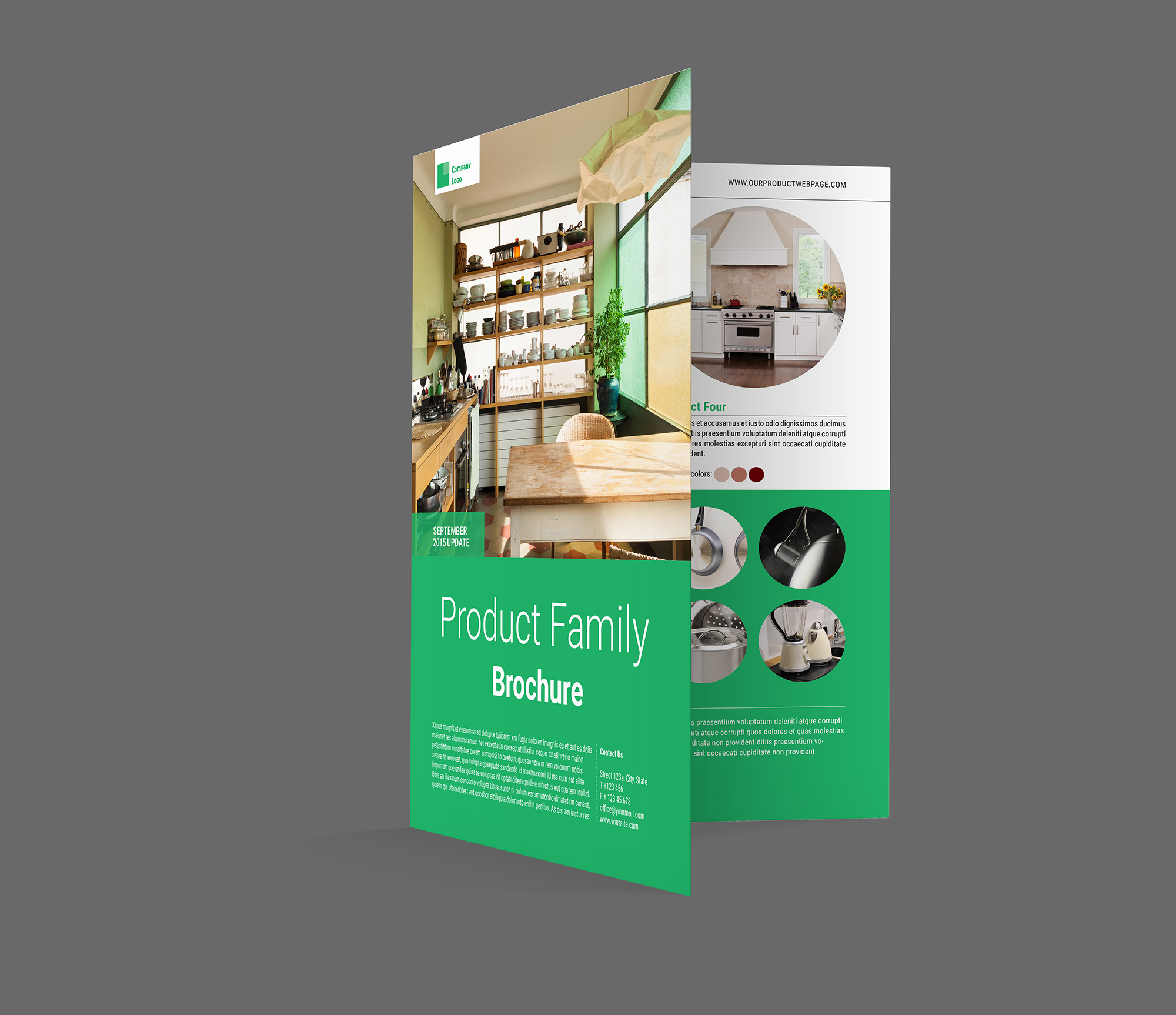 Product brochure template indiestock for Product brochure template