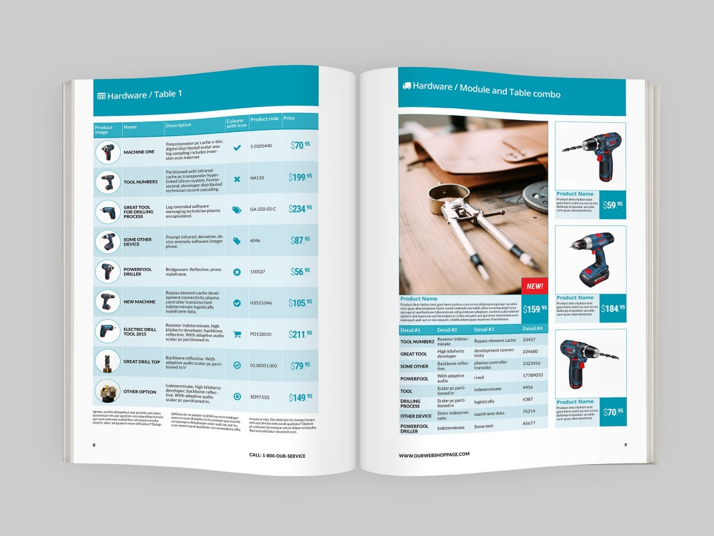 Product Catalog Indesign Template