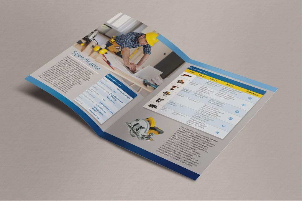 Bi-Fold Brochure - Inside pages