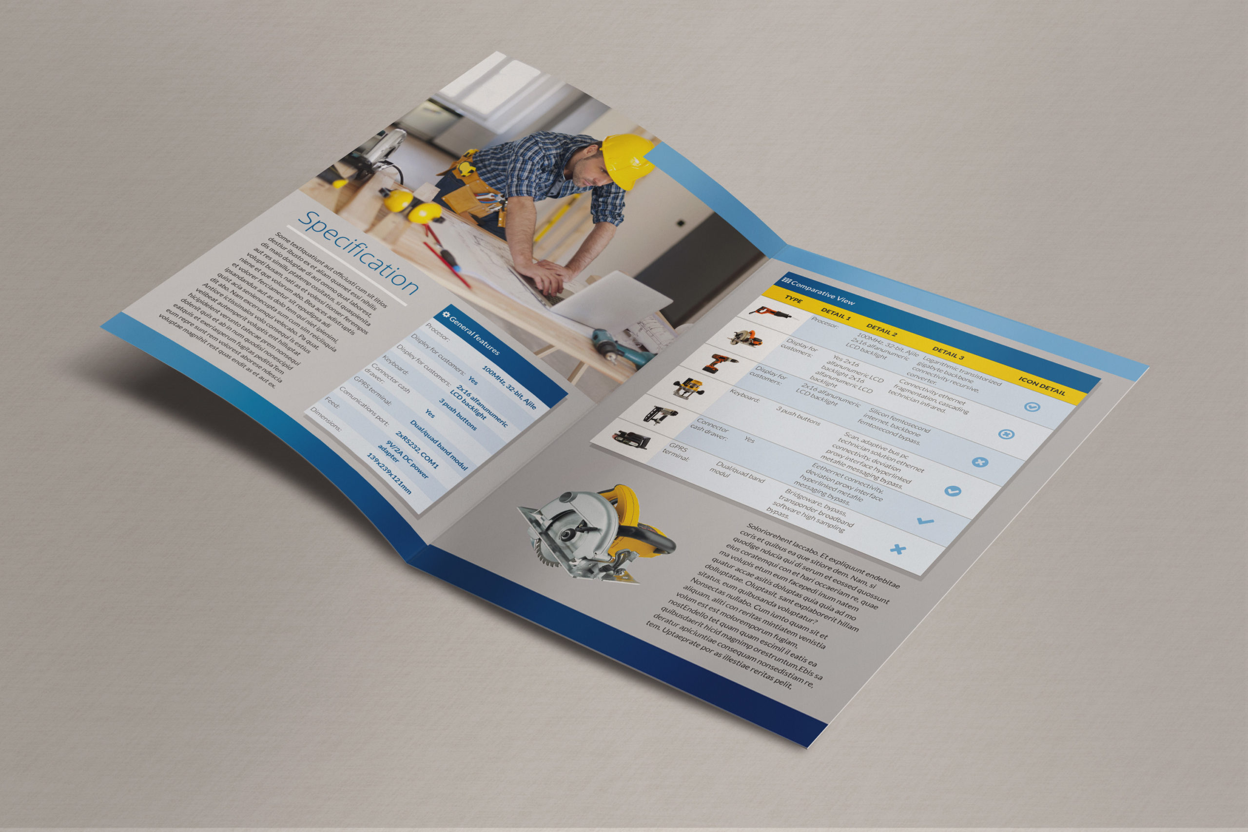 Bi-Fold Brochure - Inside pages