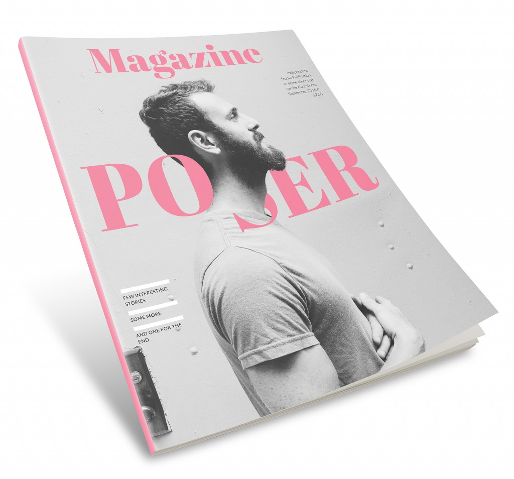 Magazine InDesign template