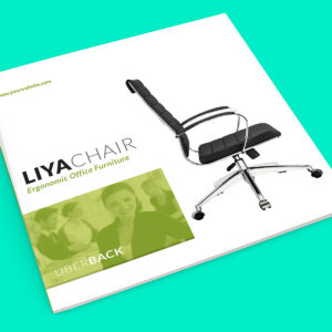 LiyaChair - Square Brochure InDesign template